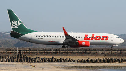 PK-LKP - Lion Airlines Boeing 737-800