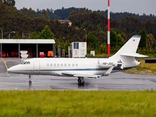 HB-JGG - MSC Aviation SA Direction Dassault Falcon 2000 DX, EX