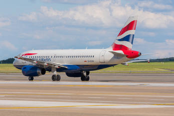 G-EUOI - British Airways Airbus A319