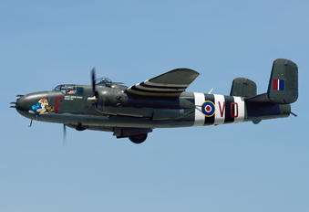 C-GCWM - Canadian Warplane Heritage North American B-25J Mitchell