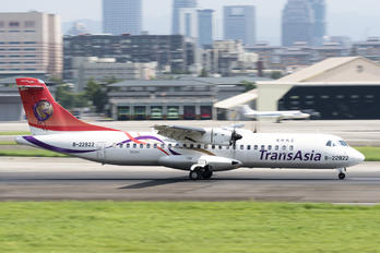 B-22822 - TransAsia Airways ATR 72 (all models)