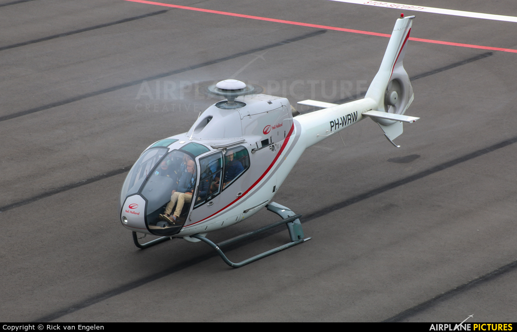 Heli Holland PH-WRW aircraft at Eindhoven