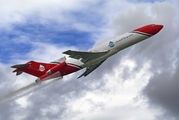 "G-OSRA - 2 Excel Aviation ""The Blades Aerobatic Team"" Boeing 727-200/Adv(RE) Super 27 aircraft"
