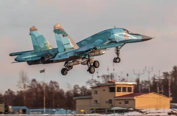 RF-95082 - Russia - Air Force Sukhoi Su-34
