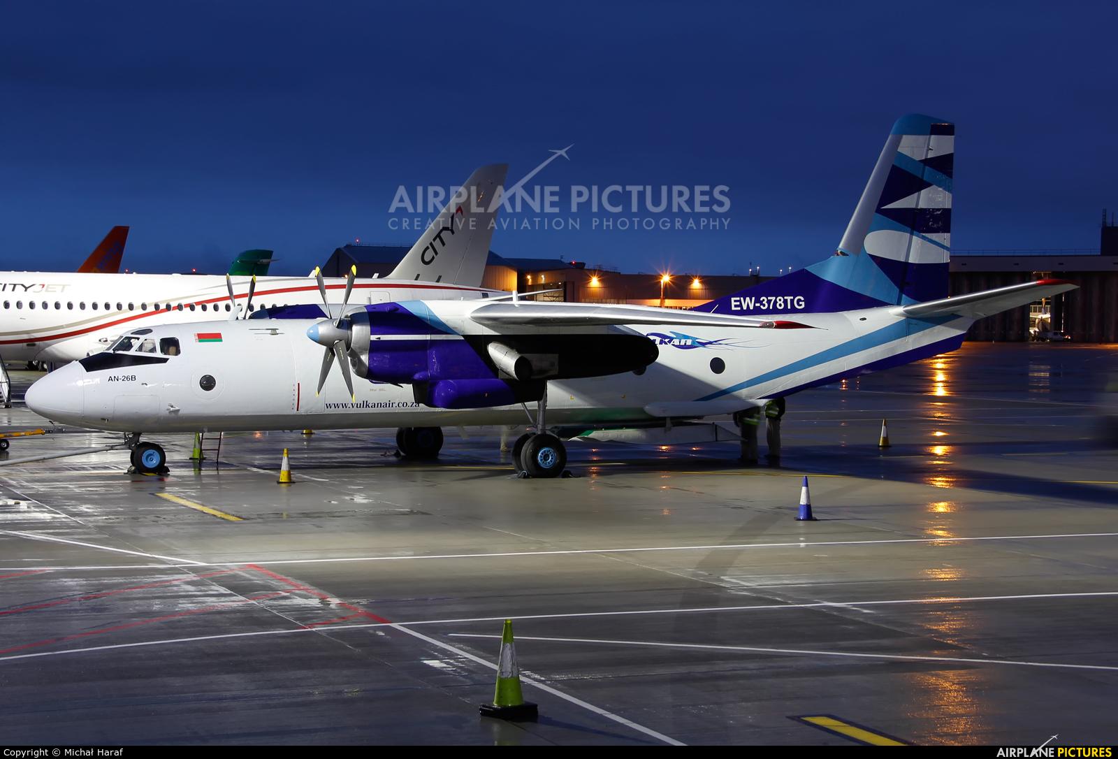 Vulkan Air EW-378TG aircraft at Dublin