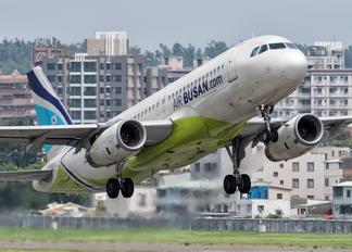 HL7753 - Air Busan Airbus A320
