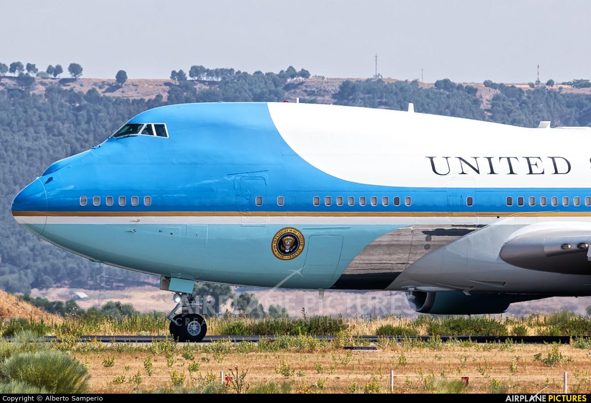 USA - Air Force 82-8000 aircraft at Madrid - Torrejon