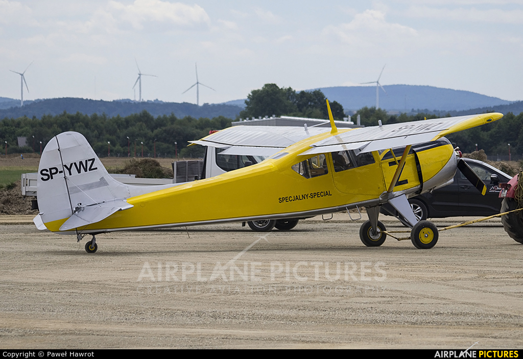Private SP-YWZ aircraft at Krosno