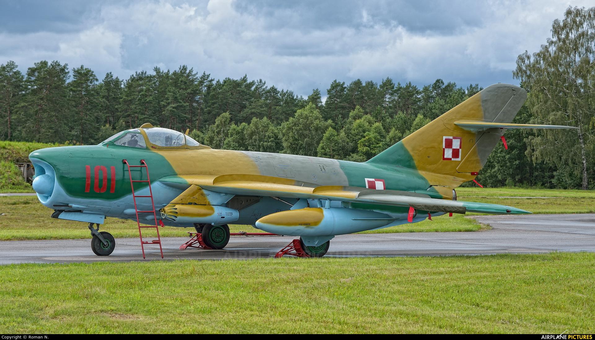 Poland - Navy 101 aircraft at Siemirowice