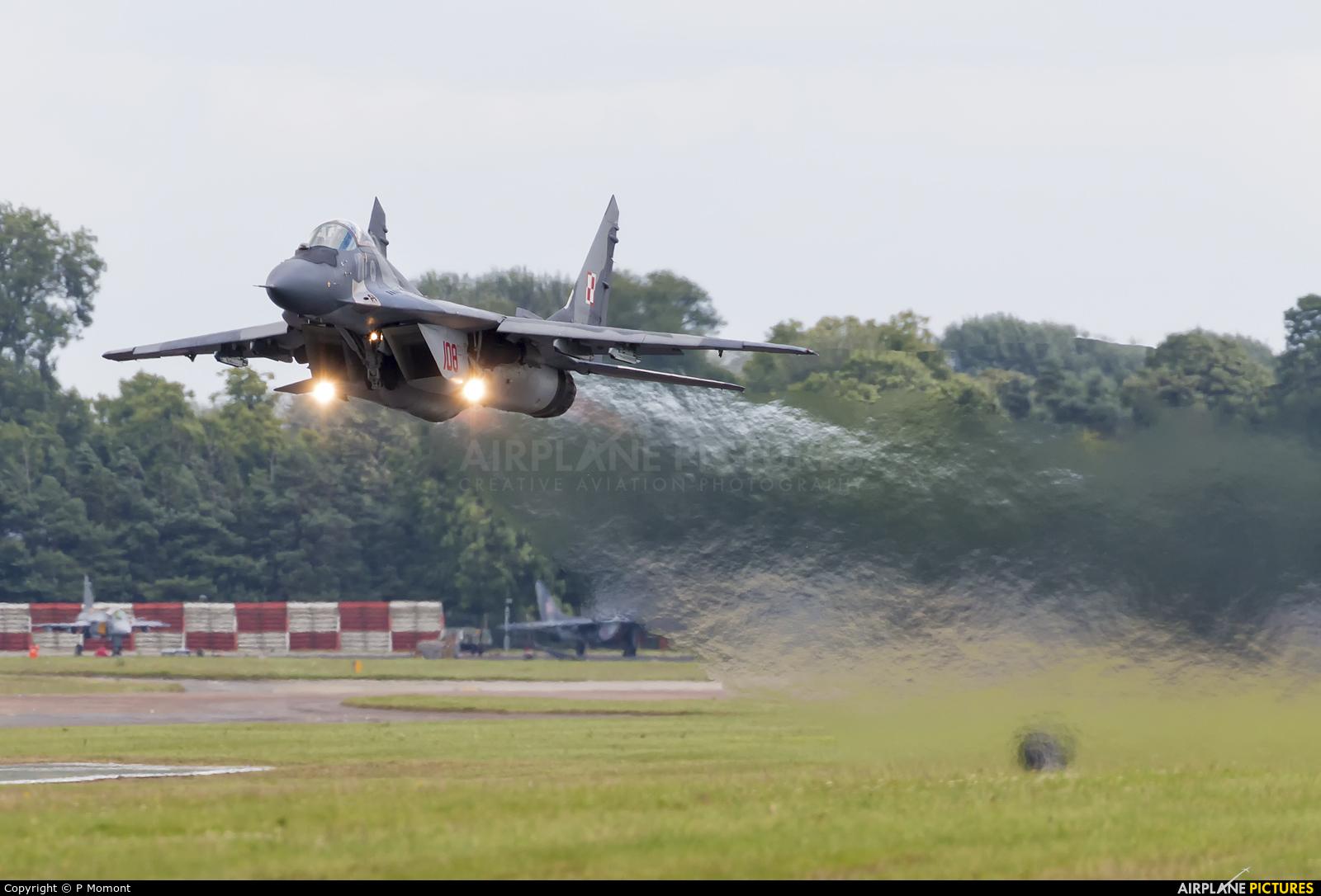 Poland - Air Force 108 aircraft at Fairford