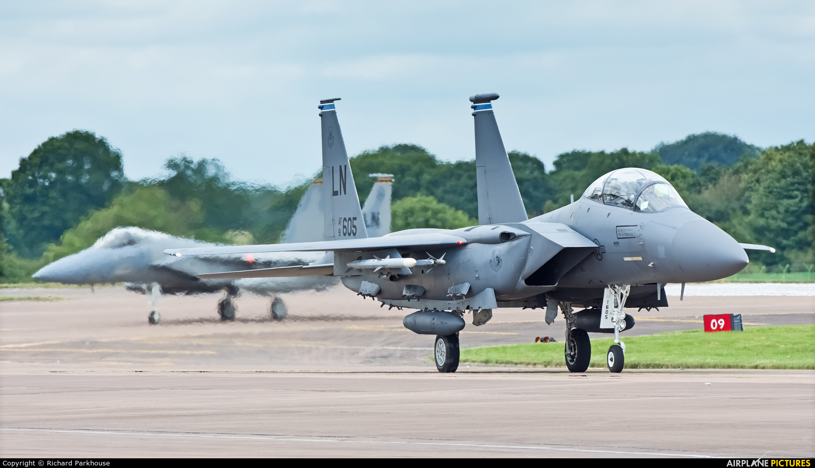 USA - Air Force 91-0605 aircraft at Fairford