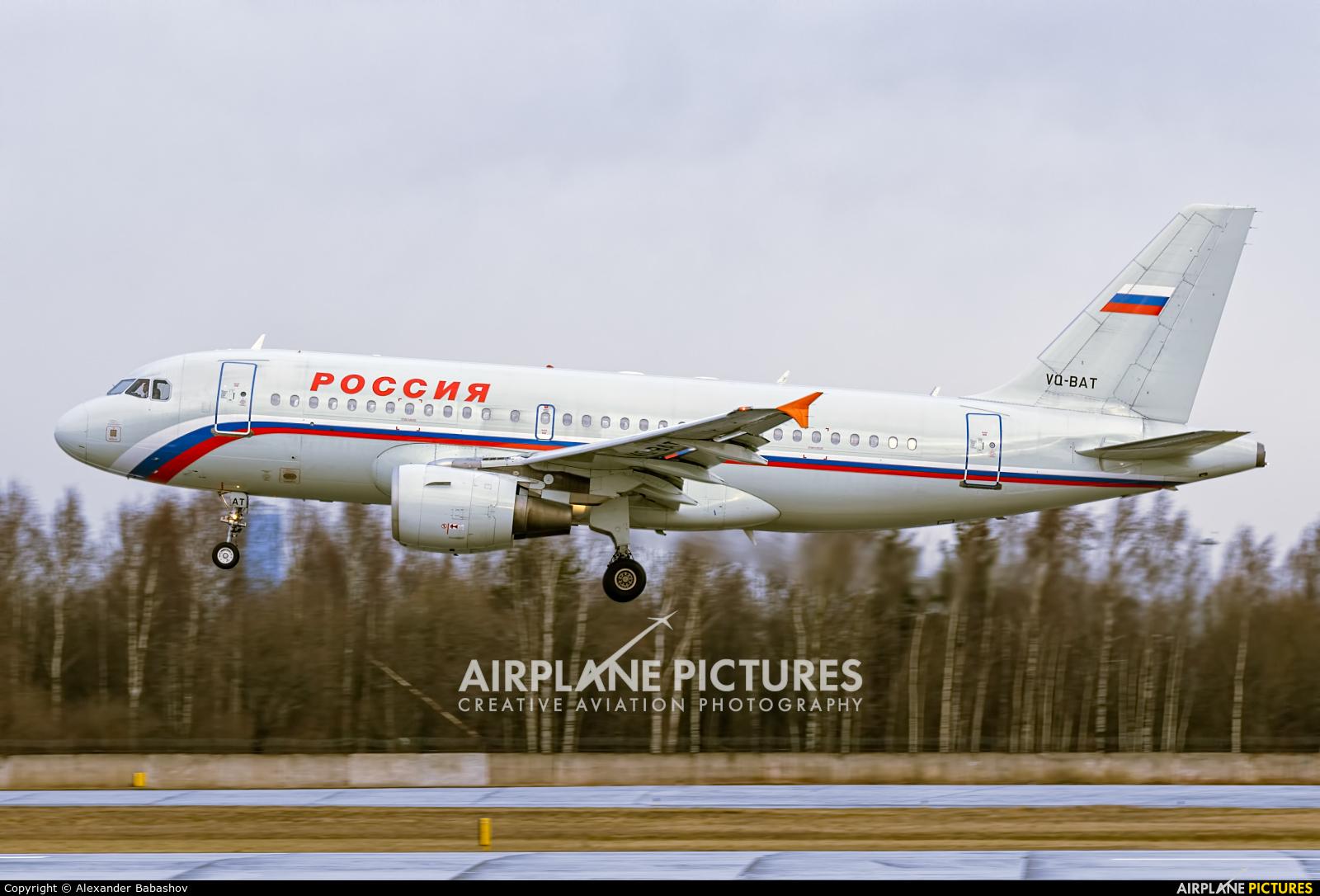 Rossiya Airbus A319 VQ-BAT