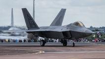 09-4181 - USA - Air Force Lockheed Martin F-22A Raptor aircraft