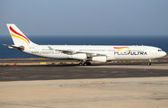 EC-MFB - Plus Ultra Airbus A340-300 aircraft