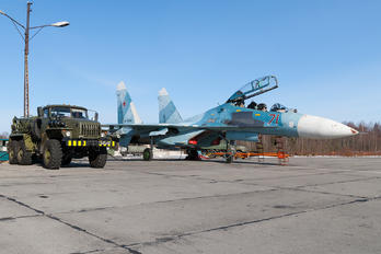 RF-90714 - Russia - Air Force Sukhoi Su-27UB