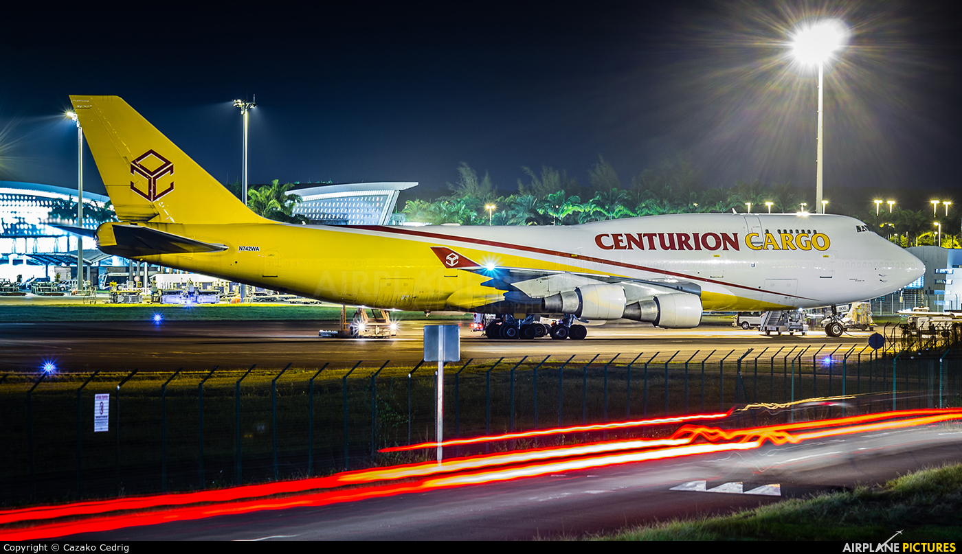 Centurion Air Cargo N742WA aircraft at Guadeloupe - Pointe-à-Pitre