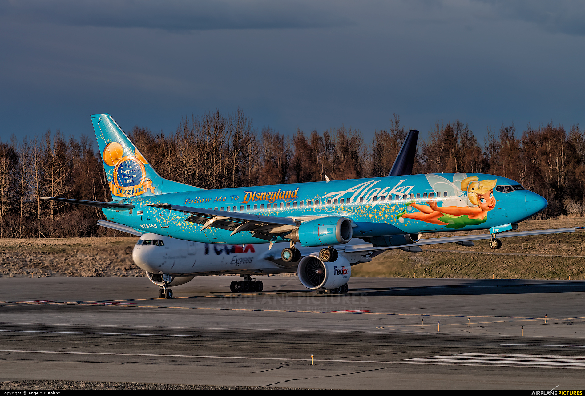 Alaska Airlines N791AS aircraft at Anchorage - Ted Stevens Intl / Kulis Air National Guard Base