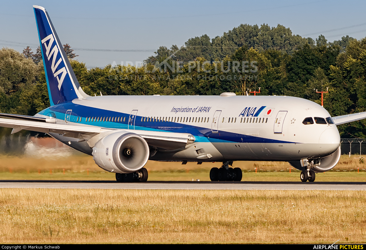 ANA - All Nippon Airways JA871A aircraft at Munich