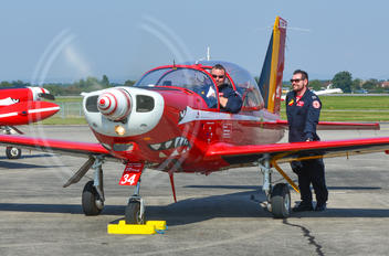 "ST34 - Belgium - Air Force ""Les Diables Rouges"" SIAI-Marchetti SF-260"