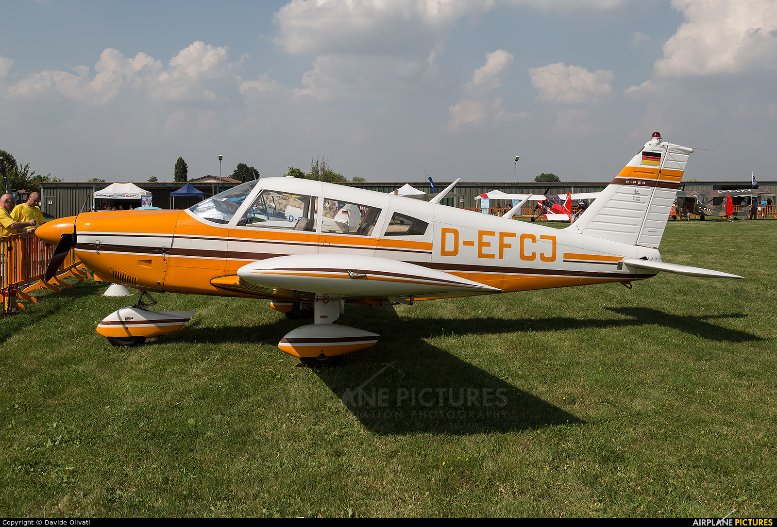 Private D-EFCJ aircraft at Montagnana