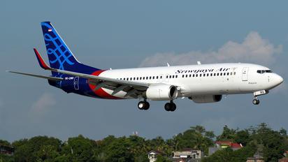PK-CMQ - Sriwajaya Air Boeing 737-800