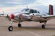N3670B - Private Beechcraft 50 Twin Bonanza aircraft