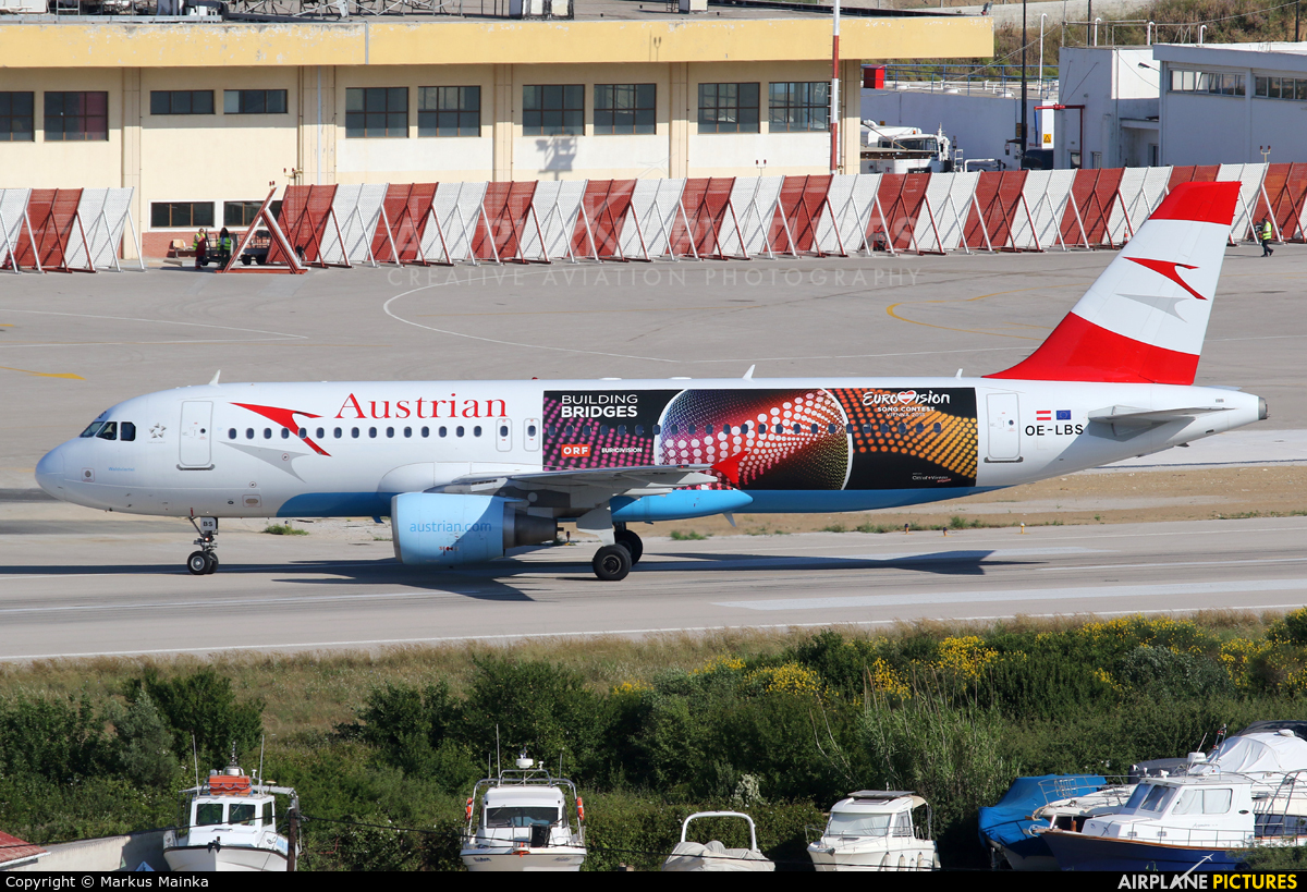 Austrian Airlines/Arrows/Tyrolean OE-LBS aircraft at Skiathos