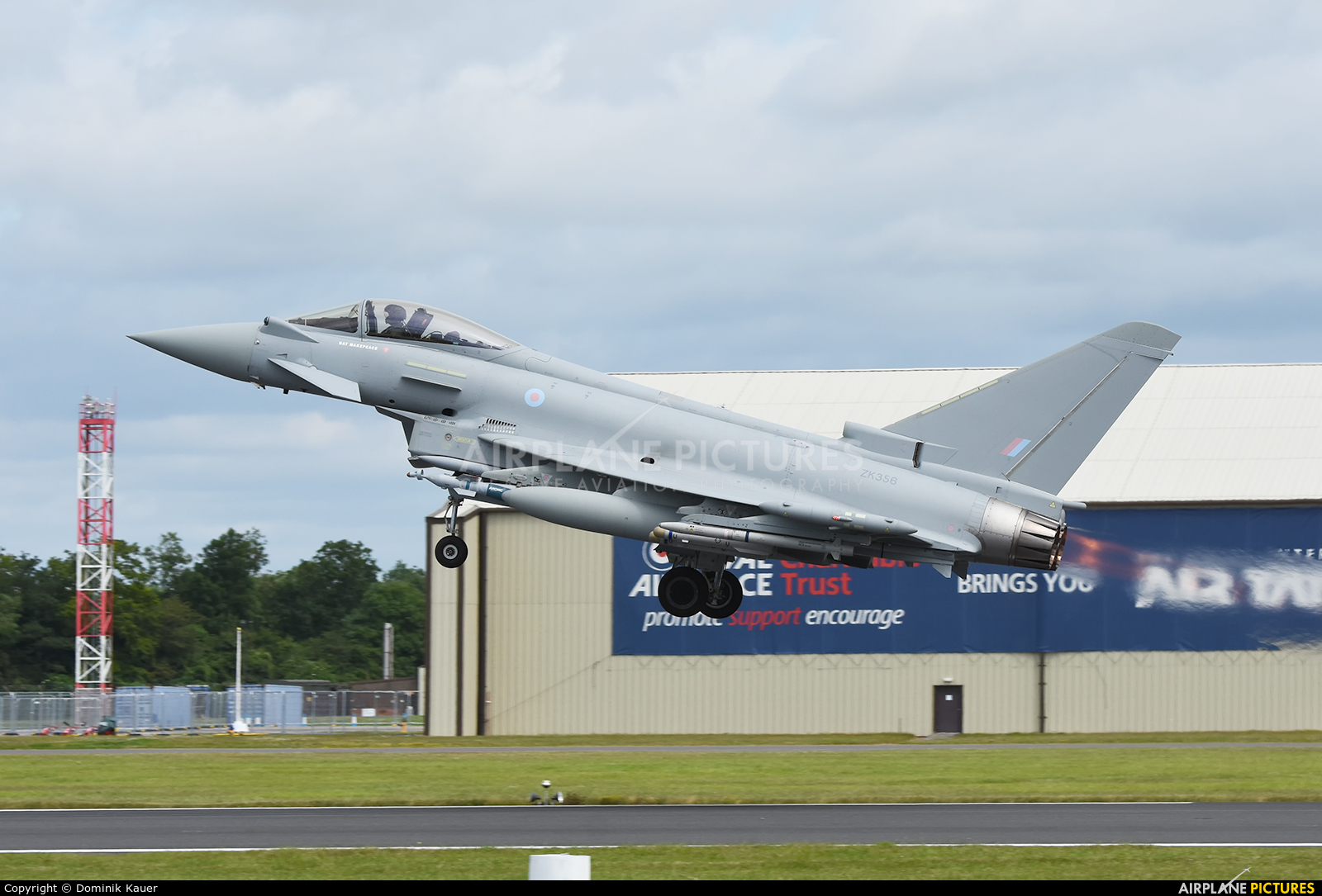 Royal Air Force ZK356 aircraft at Fairford