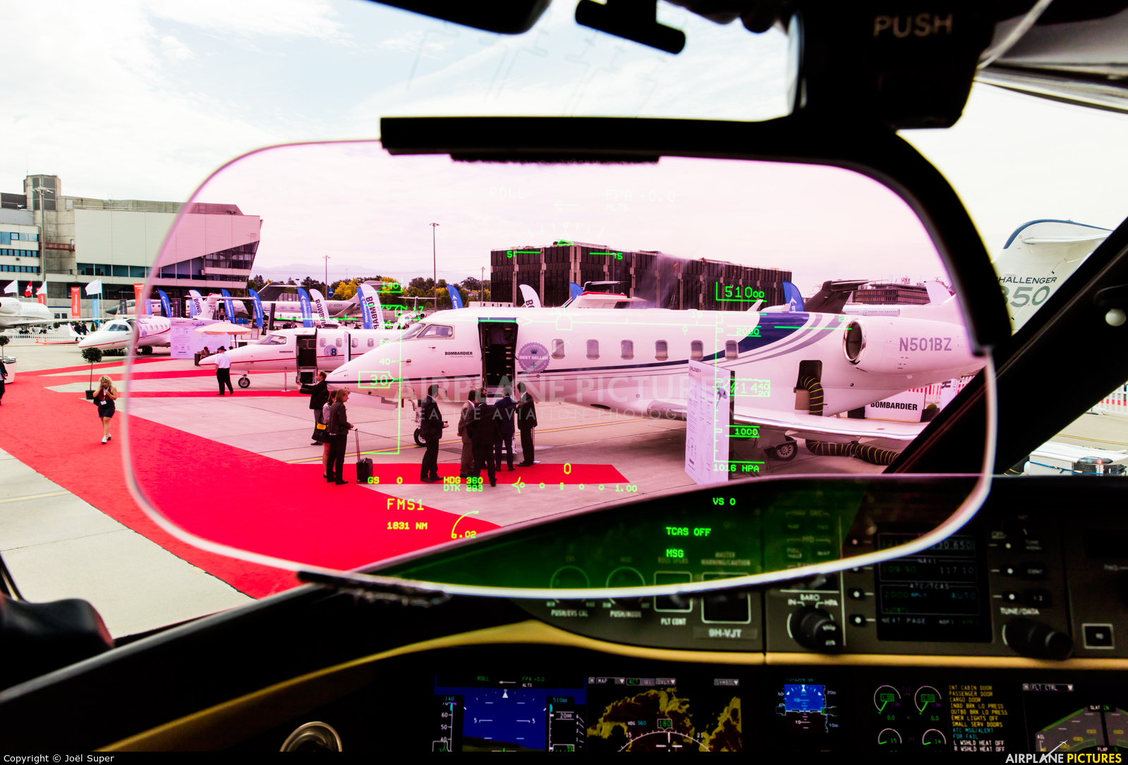 Vistajet 9H-VJT aircraft at Geneva Intl