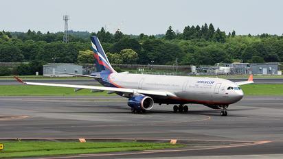 VQ-BQZ - Aeroflot Airbus A330-300