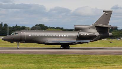OY-FWO - Execujet Scandinavia Dassault Falcon 7X