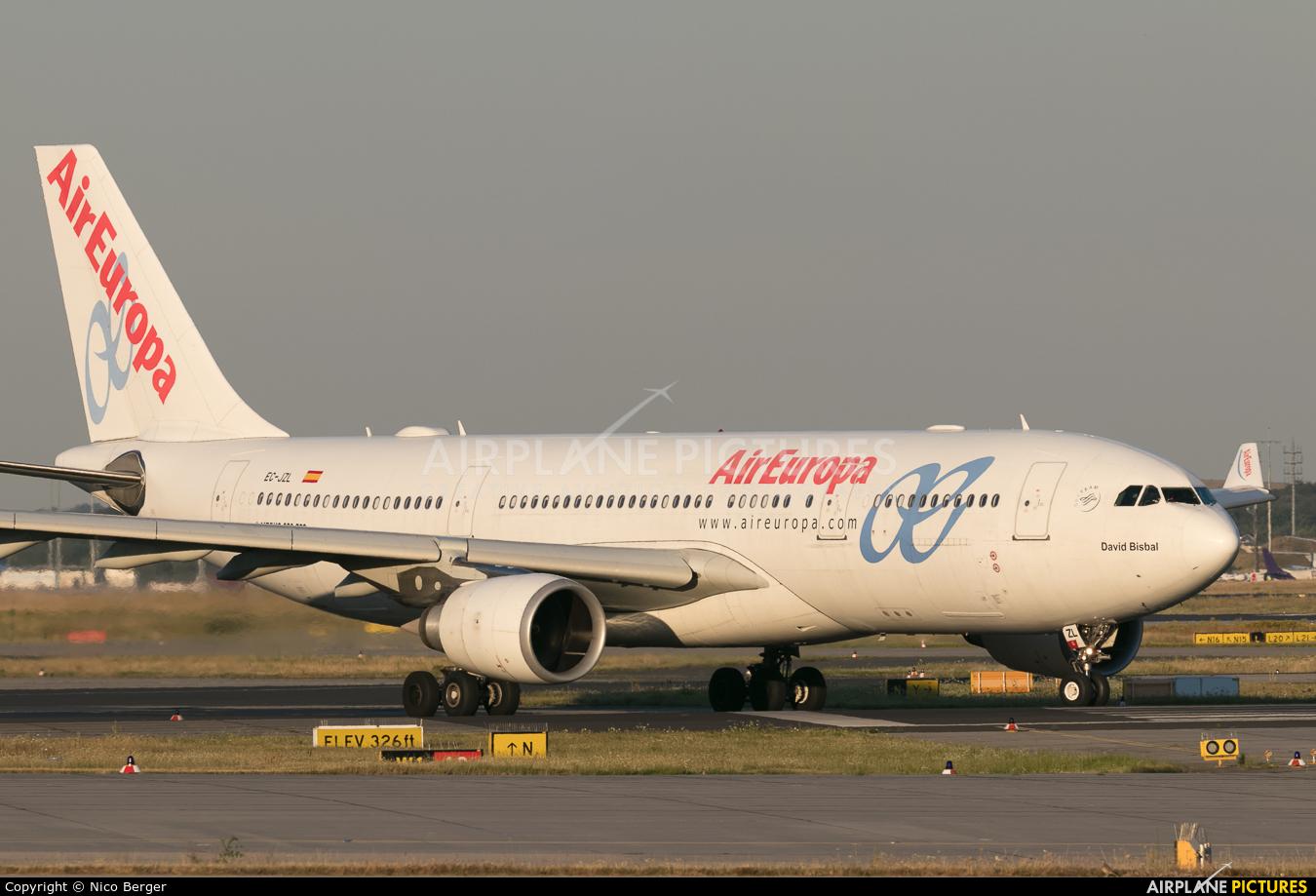Air Europa EC-JZL aircraft at Frankfurt