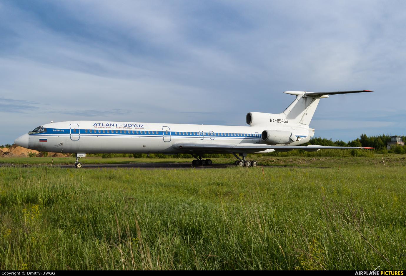 Atlant-Soyuz RA-85456 aircraft at Nizhniy Novgorod