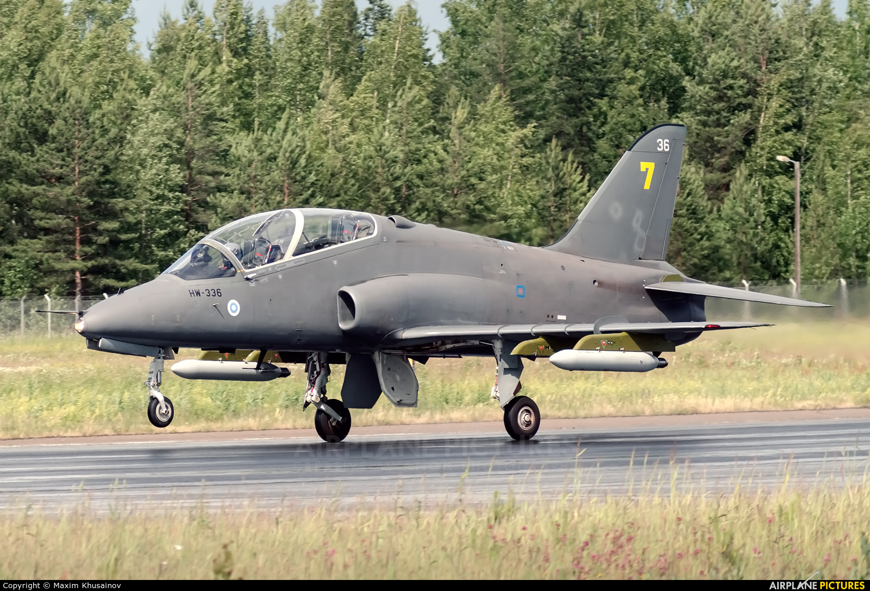 Finland - Air Force: Midnight Hawks HW-336 aircraft at Lappeenranta