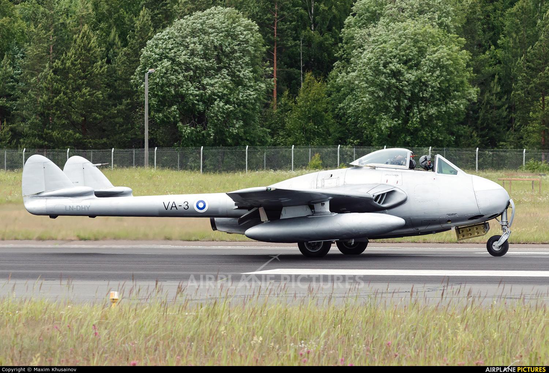 Private LN-DHY aircraft at Lappeenranta