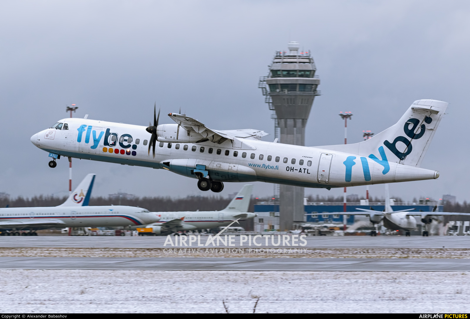 FlyBe Nordic ATR 72 (all models) OH-ATL