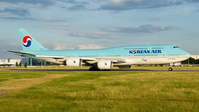 HL7631 - Korean Air Boeing 747-8