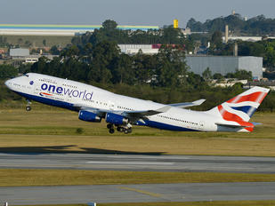 G-CIVD - British Airways Boeing 747-400
