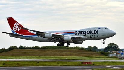 LX-OCV - Cargolux Italia Boeing 747-400F, ERF