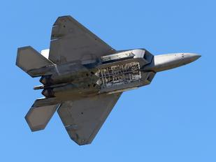 08-4169 - USA - Air Force Lockheed Martin F-22A Raptor