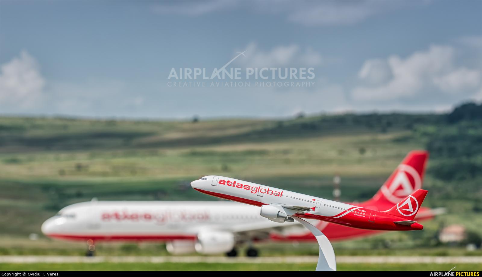 Atlasglobal TC-ATF aircraft at Cluj Napoca - Someseni