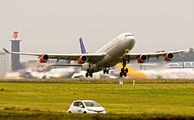 OY-KBC - SAS - Scandinavian Airlines Airbus A340-300 aircraft