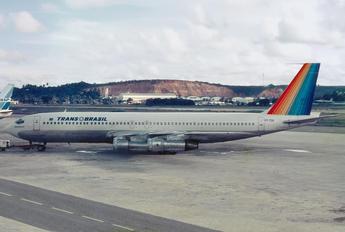 PT-TCN - Transbrasil Boeing 707-300