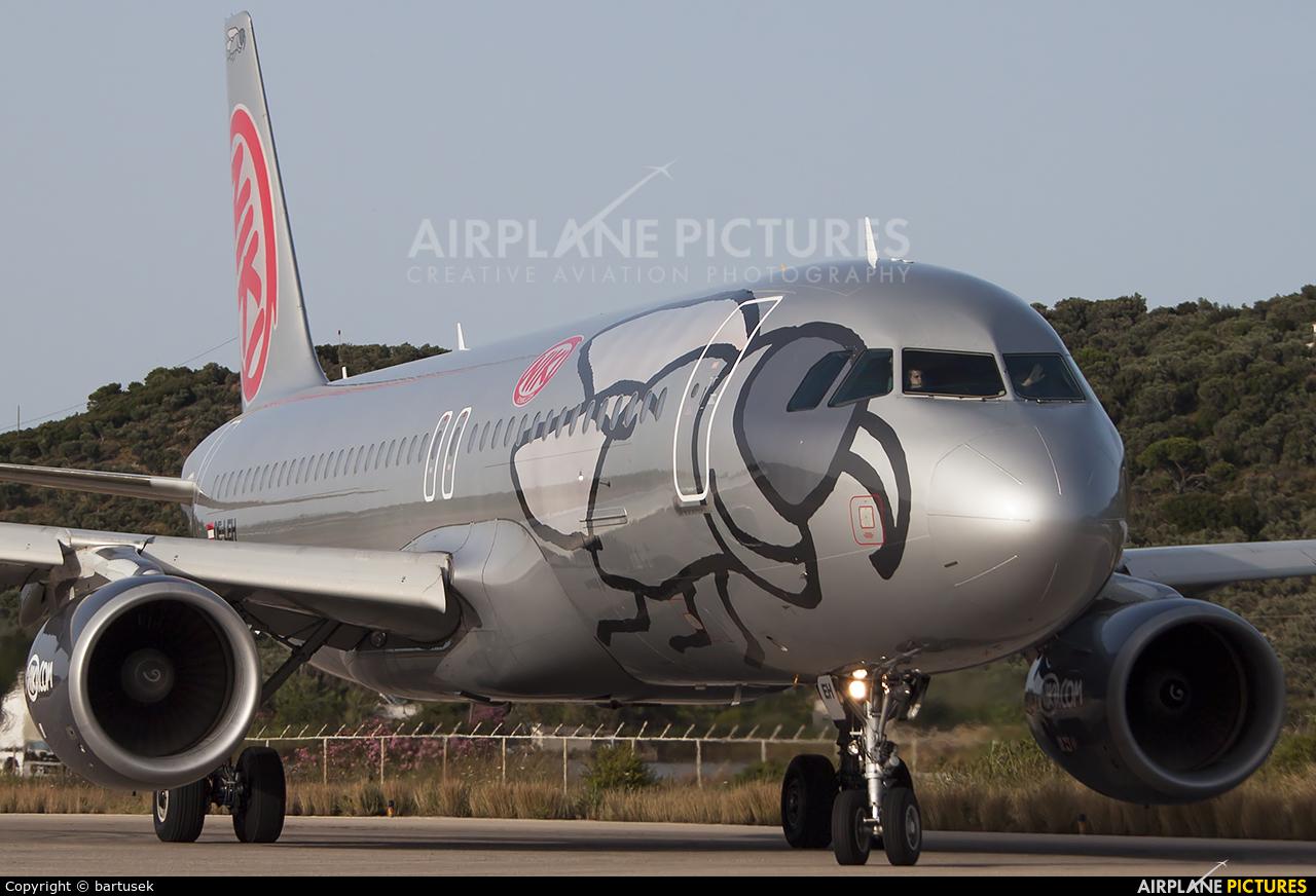 Niki OE-LEH aircraft at Skiathos
