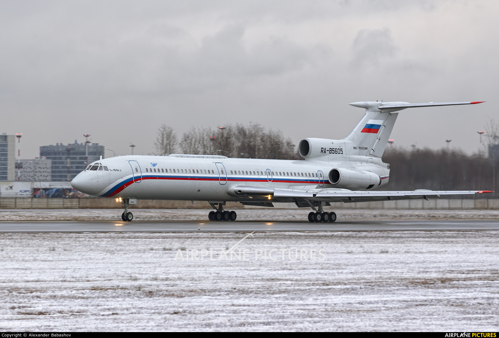 Russia - Air Force Tupolev Tu-154B-2 RA-85605