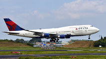 N668US - Delta Air Lines Boeing 747-400 aircraft