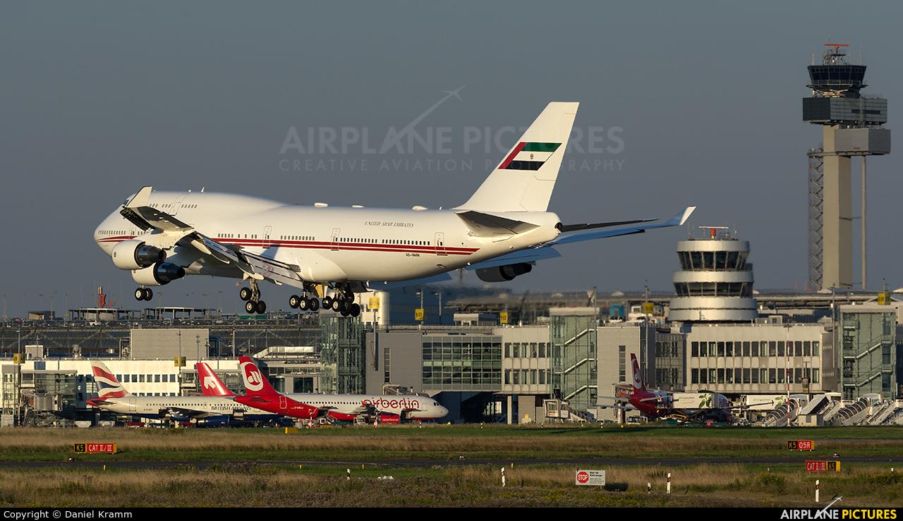 United Arab Emirates - Government A6-MMM aircraft at Düsseldorf