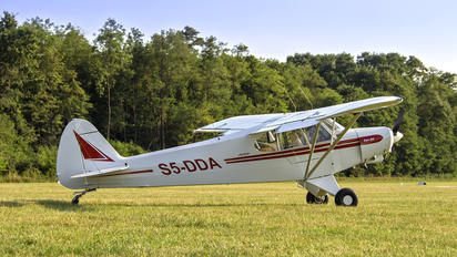 S5-DDA - Private Piper PA-18 Super Cub