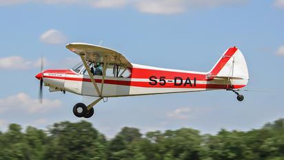 S5-DAI - Private Piper PA-18 Super Cub