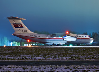 P-914 - Air Koryo Ilyushin Il-76 (all models)